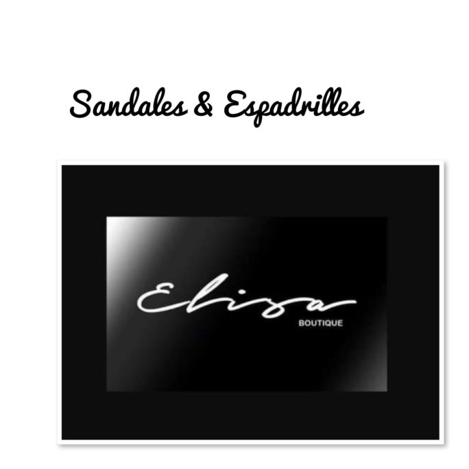 Sandales & Espadrilles